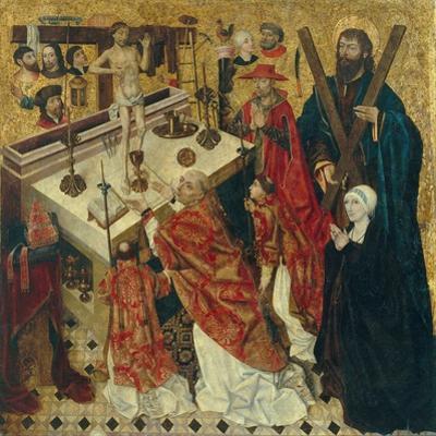 The Mass of Saint Gregory the Great by Diego De La Cruz