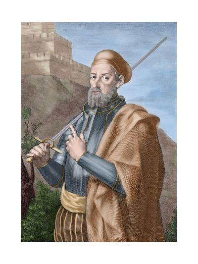 Diego Garci?A De Paredes (1468-1533). Spain--Giclee Print