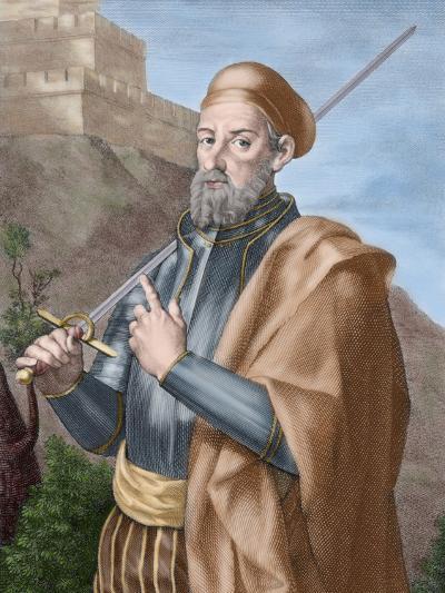 Diego Garcia a De Paredes (1468-1533)-Tarker-Photographic Print