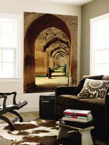 Archways of Old Granary in Meknes by Diego Lezama