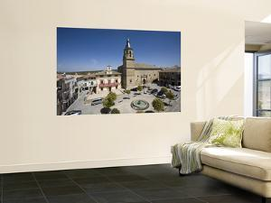 City Hall Square and Xvi Century Church of St. Peter and St. Paul by Diego Lezama