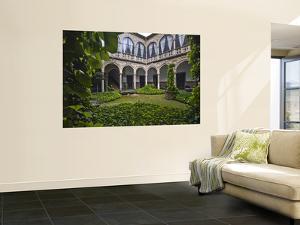 Courtyard Inside Palacio Del Marques De La Rambla by Diego Lezama