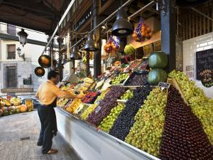 Fruit Stall at San Miguel Market by Diego Lezama