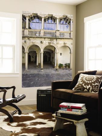 Interior Courtyard of Renaissance Castle of Canena