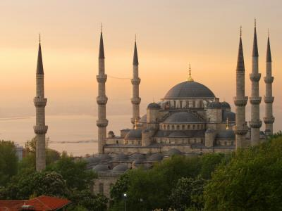 Sultan Ahmet (Blue Mosque) at Dawn, Historic Centre of Istanbul