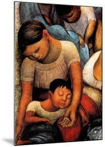 La Noche de Los Pobres by Diego Rivera