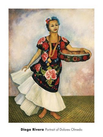 Portrait of Dolores Olmedo