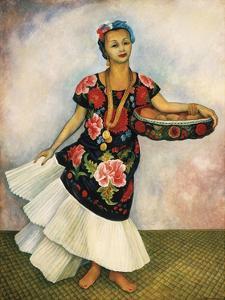 Portrait of Dolores Olmedo by Diego Rivera