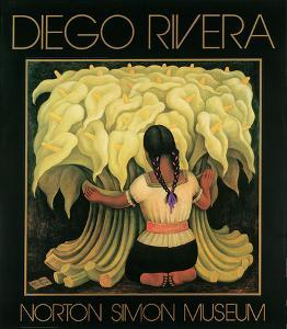 The Flower Seller, c.1942 by Diego Rivera