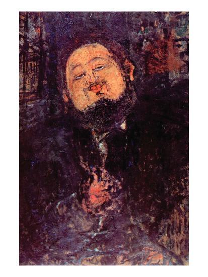 Diego Rivera-Amedeo Modigliani-Art Print