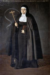 Abbess Jerónima De La Fuente, 1620 by Diego Velazquez