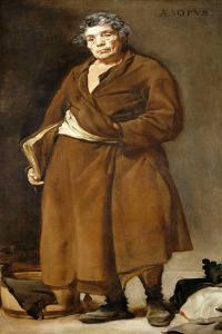 Aesop, C. 1638 by Diego Velazquez