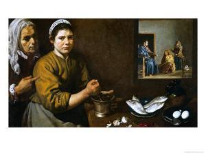 Christ in the House of Martha and Mary, 1629-1630 by Diego Velazquez