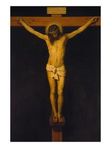 Christ on the Cross (Christ of San Placido), 1630/32 by Diego Velazquez