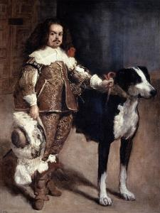 Court Dwarf Don Antonio El Inglés, 1640-1645 by Diego Velazquez