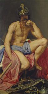 Der Gott Mars, 1640(?) by Diego Velazquez