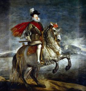 Felipe III, King of Spain (1578-1621) on Horseback by Diego Velazquez