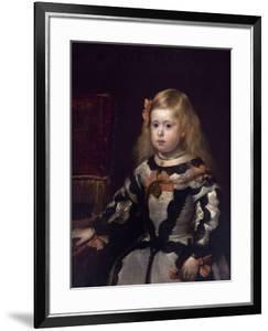 Infanta Margaret of Austria, Philip Iv's Daughter by Diego Velazquez
