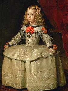 Infanta Margarita Teresa in White Garb by Diego Velazquez