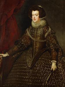 Isabella, Queen of Spain, 1602-1644 by Diego Velazquez