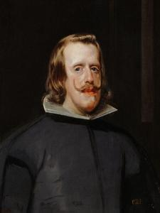 King Philip IV of Spain (1605-1665), Painted 1655-1660 by Diego Velazquez