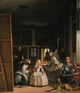 Las Meninas (The Courtladies) by Diego Velazquez