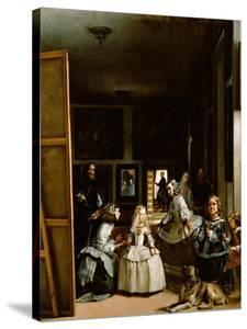 Las Meninas (The Maids of Honor), 1656 by Diego Velazquez