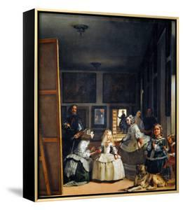 Las Meninas (With Velazquez' Self-Portrait) or the Family of Philip IV, 1656 by Diego Velazquez