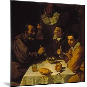 Luncheon, about 1617 by Diego Velazquez