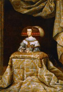 Maria Anna of Austria (1634-1696), Second Spouse of Philip IV, Praying by Diego Velazquez