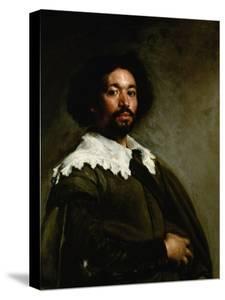 Portrait of Juan De Pareja, 1650 by Diego Velazquez