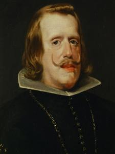 Portrait of Philip IV, King of Spain (1605-1665), 1652/53 by Diego Velazquez