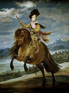 Prince Baltasar Carlos on Horseback, 1634-1635 by Diego Velazquez