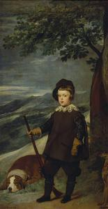 Prince Balthasar Carlos as Hunter, about 1635 by Diego Velazquez