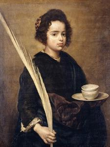 Saint Rufina by Diego Velazquez