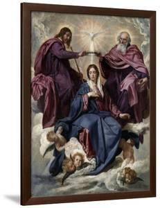 The Coronation of the Virgin, 1635-1636 by Diego Velazquez