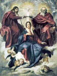 The Coronation of the Virgin by Diego Velazquez