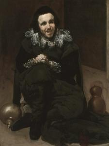 The Court Jester Calabacillas or Bob De Coria, C. 1639 by Diego Velazquez