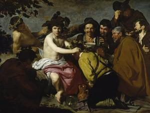 The Drinker (The Triumph of Bacchus/ Los Borrachos), 1628 by Diego Velazquez