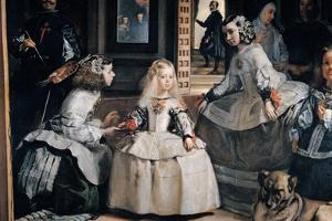 The Family of Philip IV (Las Meninas) by Diego Velazquez