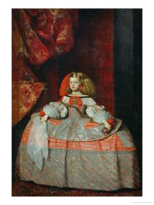 The Infanta Margarita Teresa (1651-1673) in a Pink Dress by Diego Velazquez
