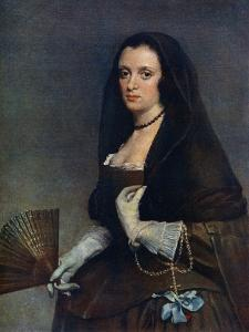The Lady with a Fan, C1630-1650 by Diego Velazquez