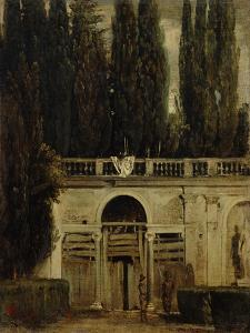 The Medici Gardens in Rome, 1650-1651 by Diego Velazquez