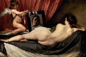 The Rokeby Venus: the Toilet of Venus, 1642 by Diego Velazquez