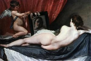 The Toilet of Venus (The Rokeby Venus), 1647-1651 by Diego Velazquez