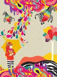 My Flying Zebra by Diela Maharanie