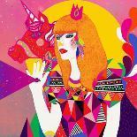 Star of Wander-Diela Maharanie-Art Print
