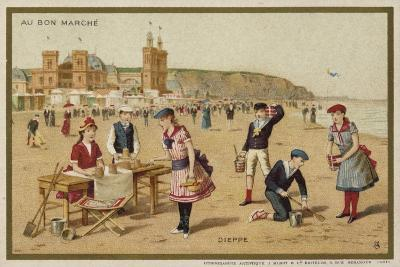 Dieppe, France--Giclee Print