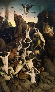 Hell, or the Fall of the Damned by Dieric Bouts