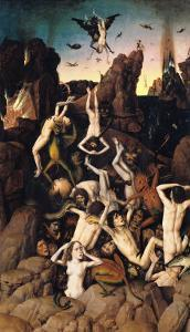 Hell by Dieric Bouts